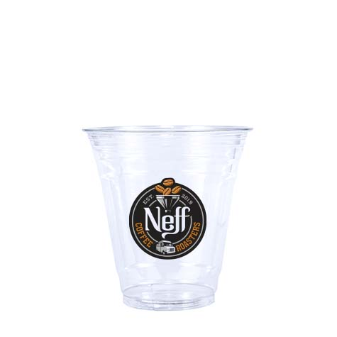 12oz Custom Printed Clear PET Cold Cups