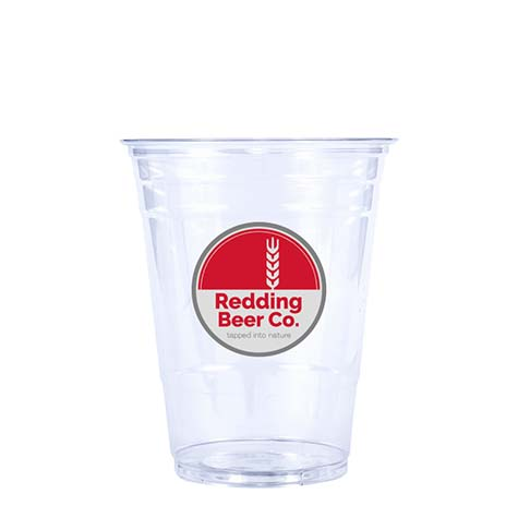 16oz Custom Printed Clear PET Cold Cups